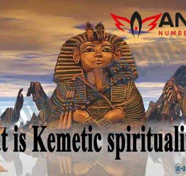 What is Kemetic spirituality?